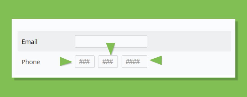 UI design- do not slice fields