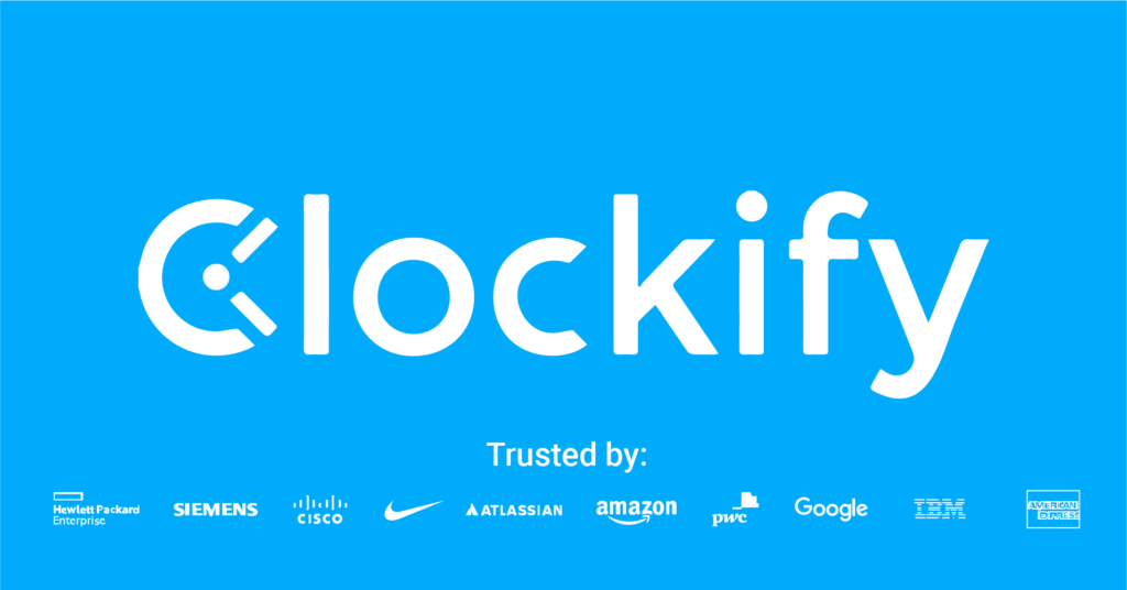 Clockify offers great time management