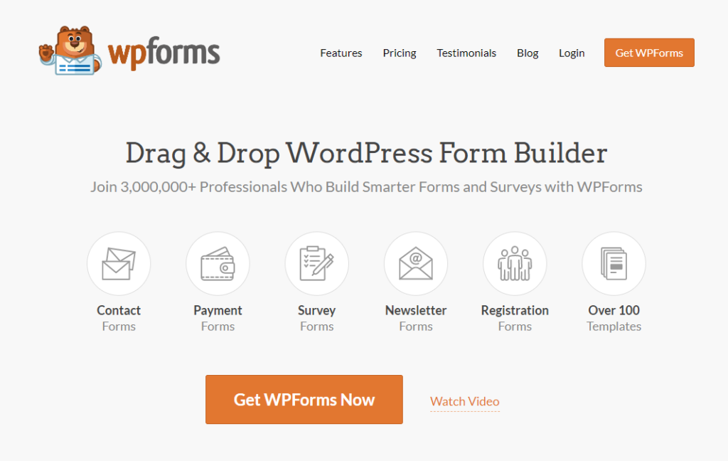 WPForms is a good Gravity Forms alternative