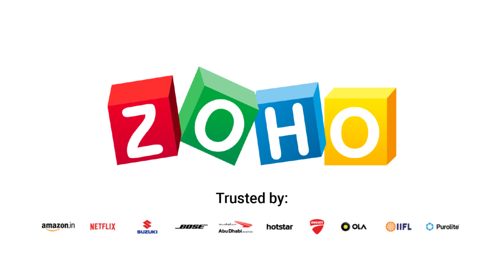 ZOHO is incredible at task management