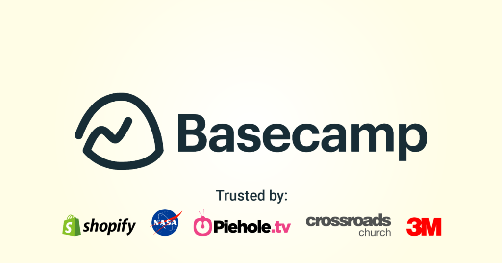 Basecamp is great at project management
