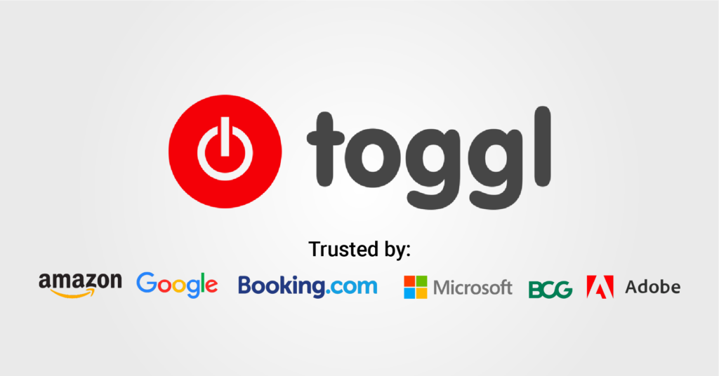 toggl is a good time management software