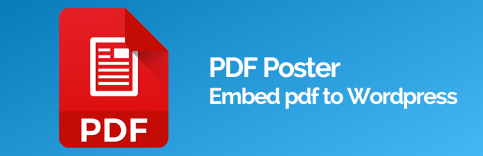 PDF Poster - one of the best WordPress PDF plugins