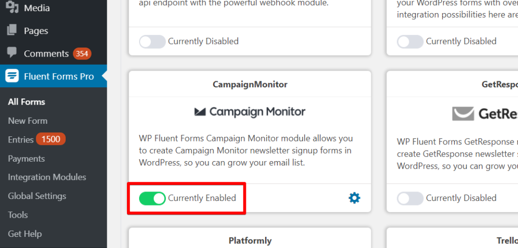 Email Marketing with Campaign Monitor -  Activate Addon