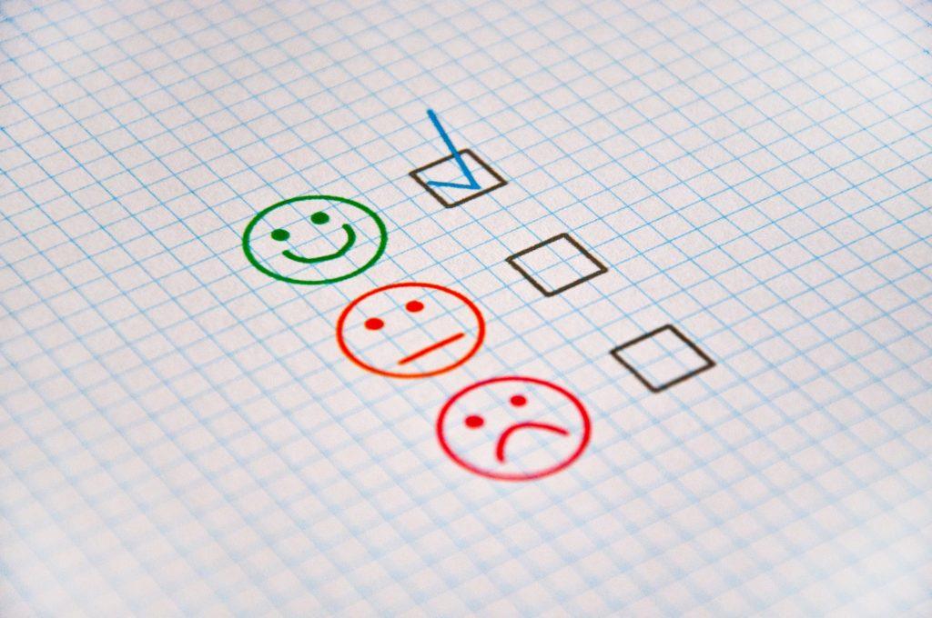 Email list building - customer feedback