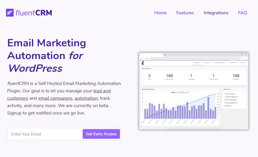 FluentCRM - Marketing Automation for WordPress