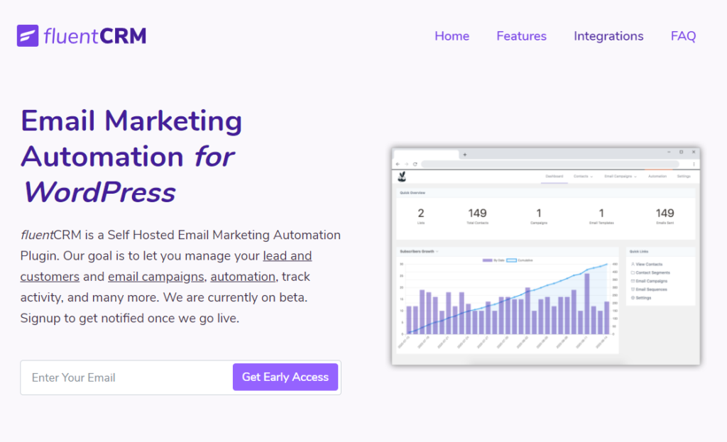 FluentCRM - Marketing Automation for WordPress