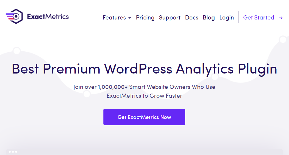 ExactMetrics - An essential analytics plugin