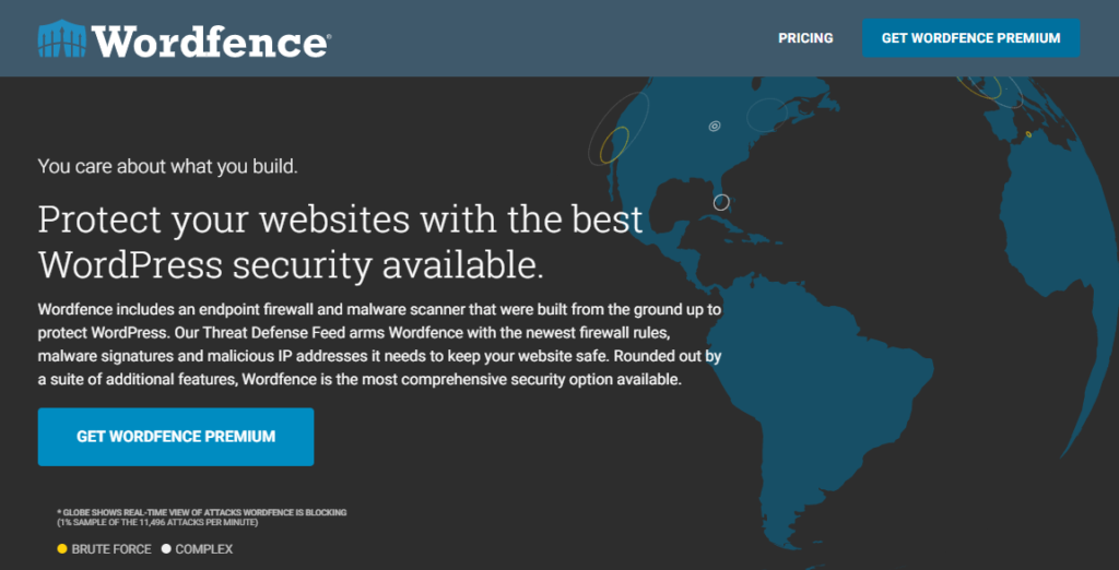 Wordfence Security - Firewall & Malware Scan - A WordPress security plugin