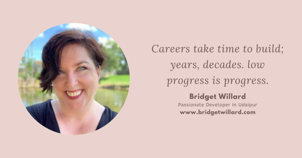 Bridget Willard inspiring women in WordPress