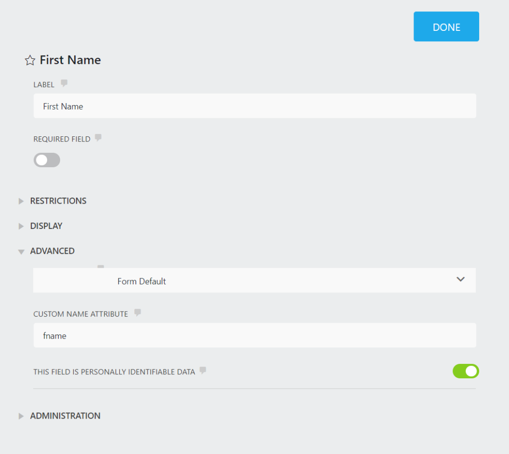 Ninja Forms offers no conditional logic for free